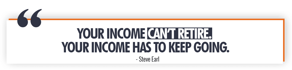 Steve Earl Quote On Income