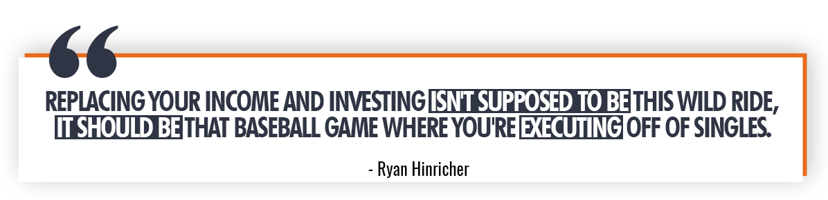 Ryan Hinricher Quote on Income Replacement